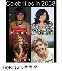 Rihanna Memes - celebrities in 2058 rihanna beyonce taylor swift taylor swift