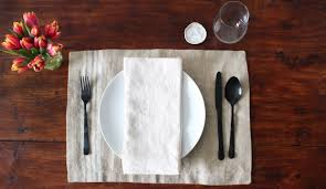 How To Set A Table How To Set The Table From Apartment Therapy U0027s Maxwell Ryan U2013 The