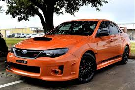 black subaru 2013 subaru impreza wrx sti orange and black limited edition in
