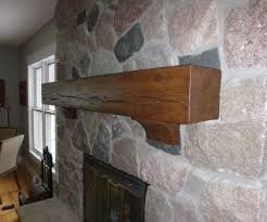 rustic beam mantel and corbels 7 steps with pictures