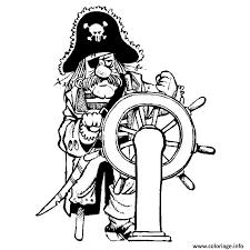 coloriage pirate dessin