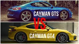 porsche cayman comparison 2015 porsche cayman gt4 vs porsche cayman gts comparison