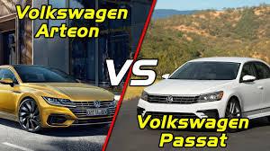 2018 volkswagen arteon vs volkswagen passat youtube