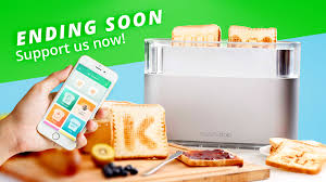 Superhero Toaster Toasteroid First App Controlled Smart Image Toaster By Toasteroid