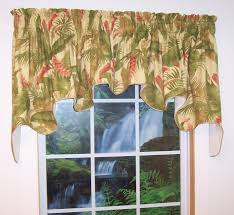 Valances For La Duchess Valance La Selva Tropical Thecurtainshop Com