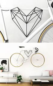 best 25 bike hanger ideas on pinterest wall bike rack bike