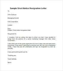 resigning letter professional resignation letter sample