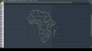 Show Me A Map Of Africa by Musical Map Of Africa Midi Art Youtube