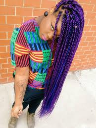 medium box braids with color tumblr i love box braids