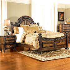 Verona Bed Frame Badcock More Verona Pecan 5 Pc Bedroom