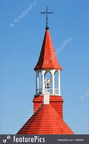 Wooden Roof Finials by Indians Chapel The Old Church Of Tadoussac Image
