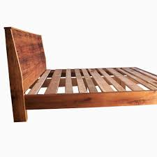 Royal Wooden Beds Buy A Custom Made Modern Reclaimed Wood Bed Made To Order From