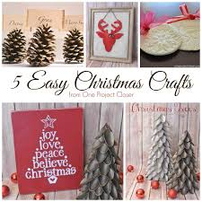 Guest Post 5 Easy Christmas Crafts The Happier Homemaker
