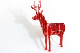 2017 europe style decoration wooden deer bookshelf diy wooden deer