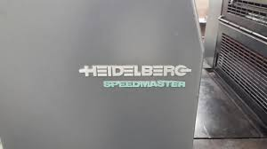 lot 20 1999 heidelberg speedmaster sm52 2p two color printing