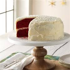 grandma u0027s red velvet cake recipe taste of home