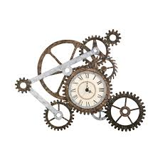 boston loft furnishings atg2191 mechanism wall clock at atg stores