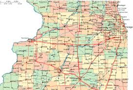 northern map regional map of northern illinois