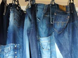 Denim Curtain Items Similar To Jeans Curtain Recycled Denim Curtain With