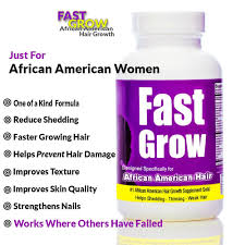 best hair vitamin to grow hair faster with fast grow ethnic hair