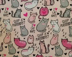 Kitten Bedding Set Cat Crib Bedding Etsy