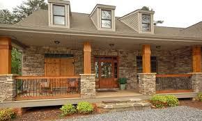texas stone house plans stone house plan with porch striking cedar home plans porches co