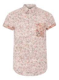 Off White Paint Off White Paint Splat Print Short Sleeve Shirt Men U0027s Shirt