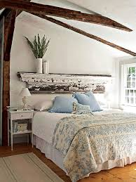 bohemian style bedroom decor rustic shabby chic headboard