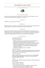 Sample Resume For Experienced Software Tester by Computer Operator Resume Samples Visualcv Resume Samples Database