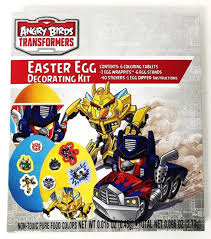 Easter Decorations To Buy Online by Amazon Com Angry Birds Transformers Easter Egg Decorating Kit