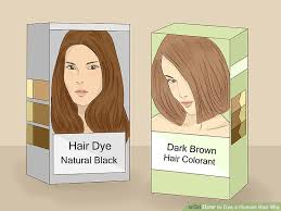 Should You Wash Your Hair Before Coloring - how to dye a human hair wig 13 steps with pictures wikihow