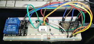 How Do I Program A Garage Door Opener by Esp8266 Nodemcu Wifi Iot Garage Door Opener Relay With Cayenne