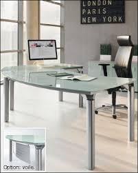 table bureau verre mobilier bureau direction meubles et bureaux de direction