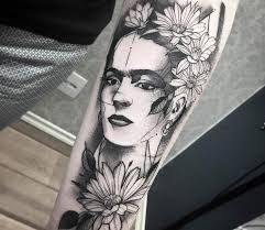 frida kahlo portrait tattoo by fredao oliveira photo no 14483