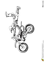 Coloriage De Moto Cross Coloriage De Moto Cros 5157