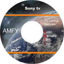 sony tv video service manuals on 4 dvd all files in pdf format ebay