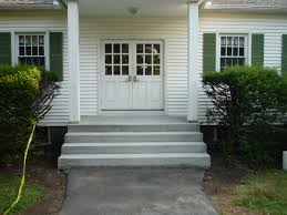 how to build pour concrete steps how to build a house