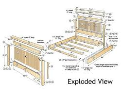 Woodworking Plans For Beds Free by Build Your Own Bed Plans Wood Magazine