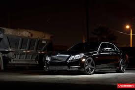 bagged mercedes e class mercedes benz e class vossen need 4 speed motorsports