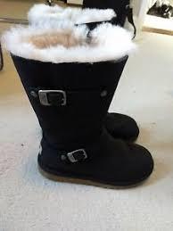 s genuine ugg boots black kensington ugg australia boots size 3 4 genuine ebay