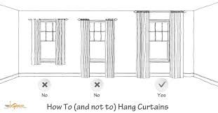 how long should curtains be how to hang curtains high and wide to make your window 2 hanging