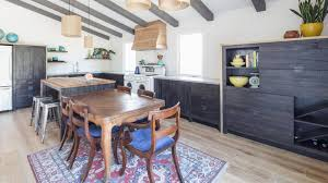modern rustic kitchens reclaimed wood revamped this kitchen into a modern rustic space