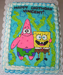 sponge bob and patrick cake a photo on flickriver