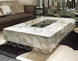 luxury high end triangular glass coffee table luxury french coffee