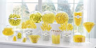 southern blue celebrations yellow u0026 gold candy buffet ideas