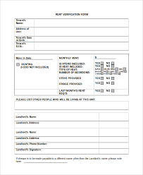 rental verification letter template 28 images 8 rental