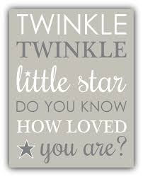 twinkle twinkle little star do you know how loved you are zoom
