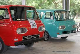 Vintage Ford Econoline Truck - austin modhouse vintage econoline vans all three of them ok two