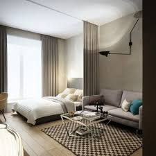 apartment minimalist modern apartment bedroom decor with grey