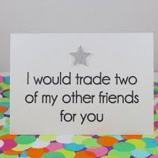 funny birthday card i would trade two of from bettieconfetti on